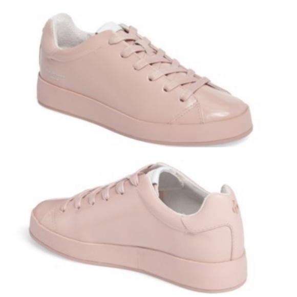 Rag Bone Rb Low Top Sneakers In Pink Sz